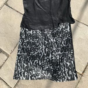 Cute printed skirt